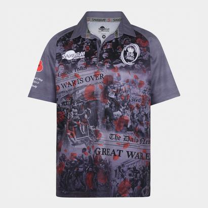 Samurai Army Rugby Union Replica Shirt Mens