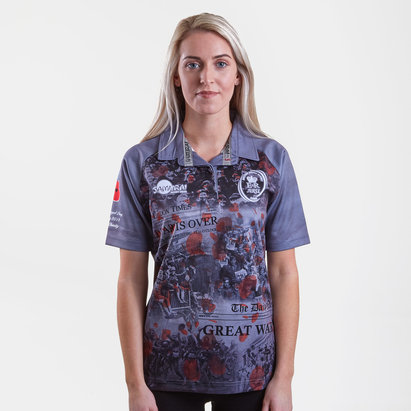 Samurai Army Rugby Union Ladies WWI Commemorative Rugby Shirt