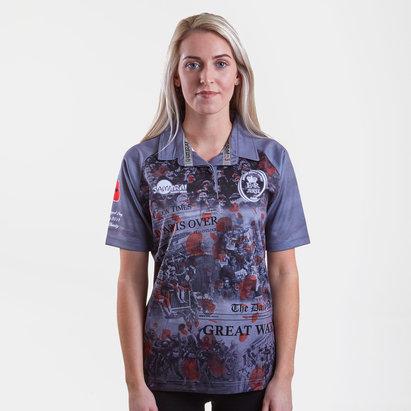 Samurai Army Rugby Union Replica Shirt Womens