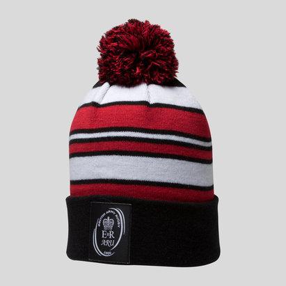 dc9e283e712 Samurai Army Rugby Union Striped Bobble Hat