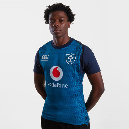 Canterbury Ireland IRFU 2018/19 Alternate Players Test S/S Rugby Shirt