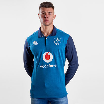 Canterbury Ireland IRFU 2018/19 Alternate Classic L/S Rugby Shirt