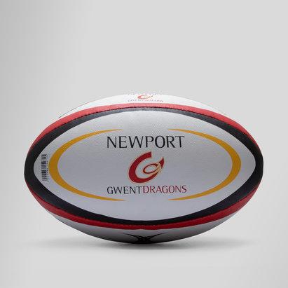 Gilbert Newport Gwent Dragons Official Replica Rugby Ball