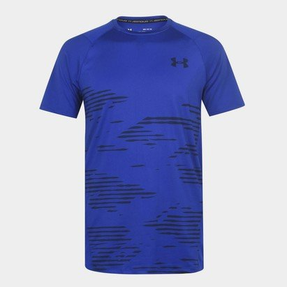 Under Armour Short Sleeve Camo T Shirt Mens