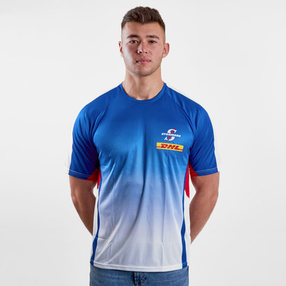 1fb61af3c74 Genuine Connection Promotions Stormers 2018 Super Rugby Players Warm Up T- Shirt