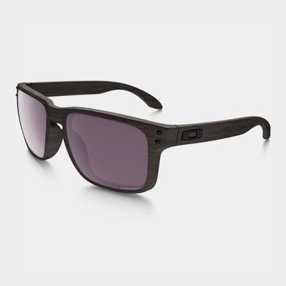 Oakley Holbrook Woodgrain Sunglasses   Prizm Polarized Lens
