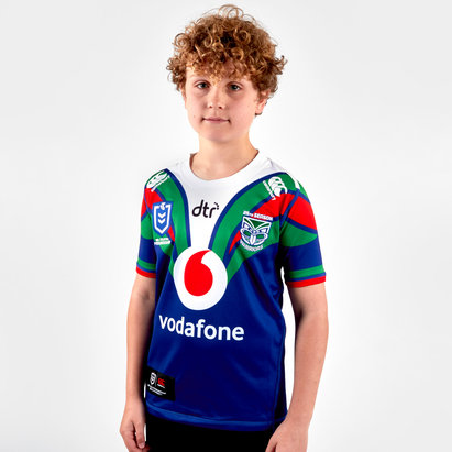 Canterbury New Zealand Warriors NRL 2019 Home Kids Shirt