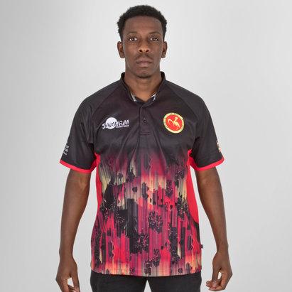 e01eeb0509a Samurai Uganda 7s 2018 RWC Alternate S/S Replica Rugby Shirt
