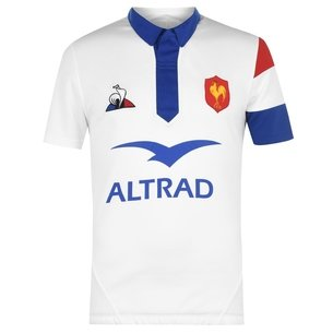 Le Coq Sportif France Rugby Polo Shirt Mens