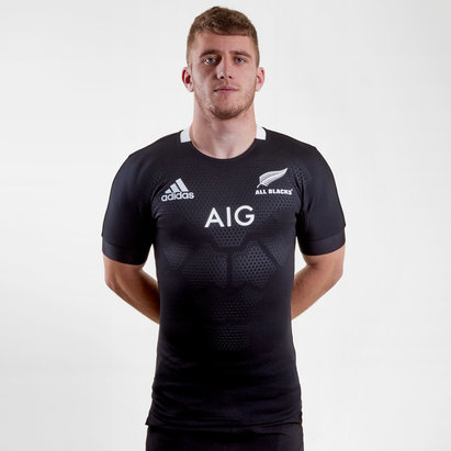 adidas New Zealand All Blacks 2019/20 Home S/S Test Shirt
