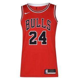 Nike NBA Chicago Bulls Jersey Mens MARKKANEN 24