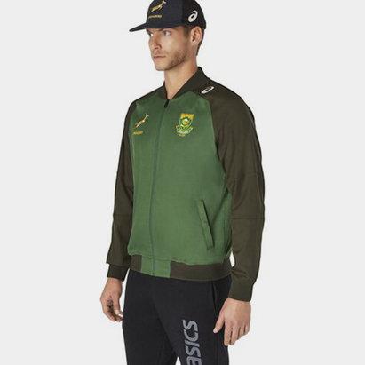Asics South Africa Springboks 2021 Presentation Jacket Mens