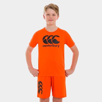 Canterbury Large Logo T Shirt Junior
