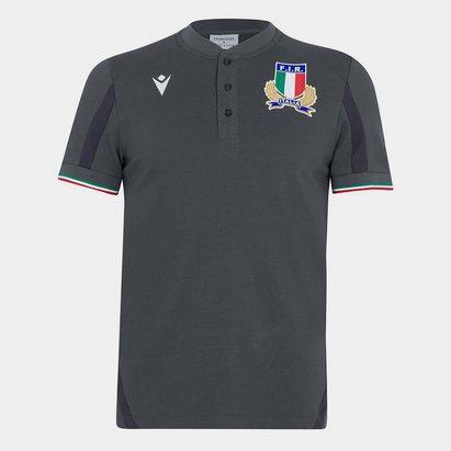 Macron Italy 21/22 Polo Shirt Mens