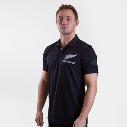 adidas New Zealand All Blacks 2019/20 Supporters Polo Shirt Black