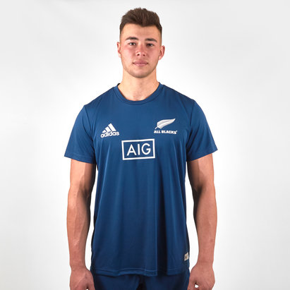 adidas New Zealand All Blacks 2019/20 Parley Players Training T-Shirt