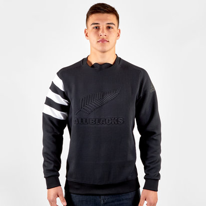adidas New Zealand All Blacks 2019/20 Crew Neck Sweatshirt