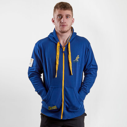 Brandco Australia Wallabies 2018 Off Field Hooded Rugby Sweat
