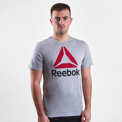 Reebok QQR Stacked Logo S/S T-Shirt
