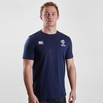 Canterbury RWC 2019 Logo Cotton S/S T-Shirt