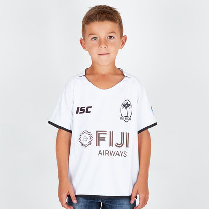 ISC Fiji 2018/19 Kids Home S/S Replica Rugby Shirt
