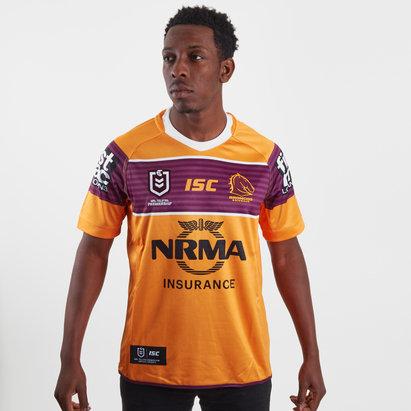 ISC Brisbane Broncos NRL 2019 Alternate S/S Rugby Shirt