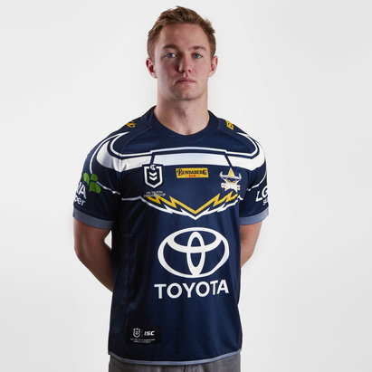 ISC North Queensland Cowboys NRL 2019 Home S/S Rugby Shirt