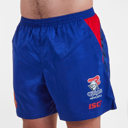 ISC Newcastle Knights NRL 2019 Players Rugby Training Shorts