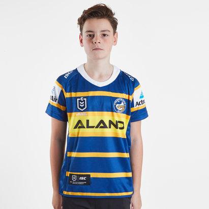 ISC Parramatta Eels 2019 NRL Kids Home S/S Rugby Shirt