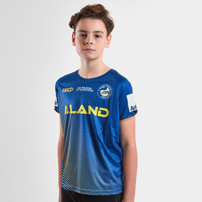 ISC Parramatta Eels 2019 NRL Kids Rugby Training T-Shirt