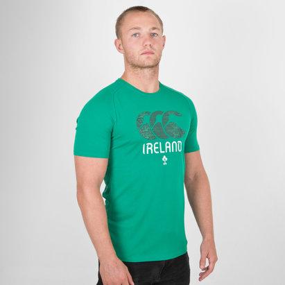 Canterbury Ireland IRFU 2019/20 Graphic Poly T-Shirt