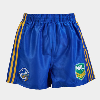 ISC Parramatta Eels NRL Kids Supporters Rugby Shorts