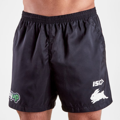 ISC South Sydney Rabbitohs NRL 2019 Players Rugby Training Shorts