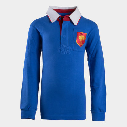VX-3 France 2019/20 Kids Vintage Rugby Shirt