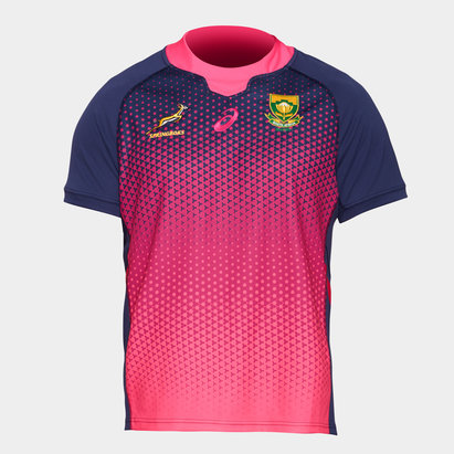 Asics South Africa Springboks 2019 Players S/S Rugby Training Shirt