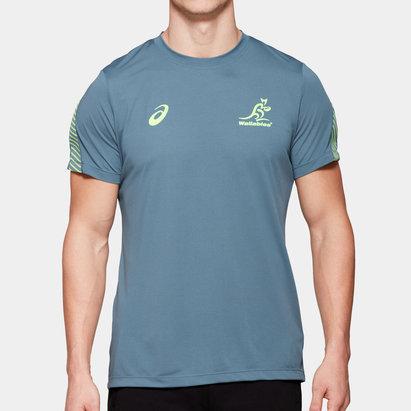 Asics Australia Wallabies Players Training T-Shirt