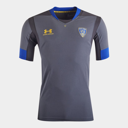 Under Armour Clermont Auvergne 2019/20 Players S/S Rugby Training Shirt