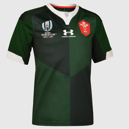 Under Armour Wales RWC 2019 Alternate Shirt Junior