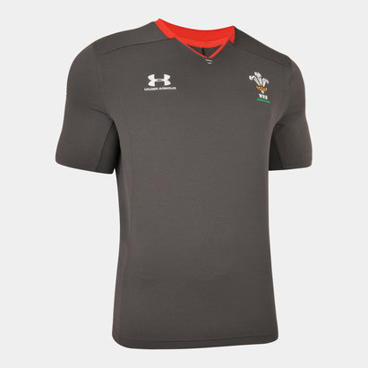Under Armour Wales Rugby Training Top 2019 2020 Mens