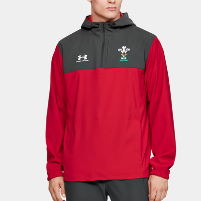 Under Armour Wales WRU 2019/20 Supporters Hooded Jacket