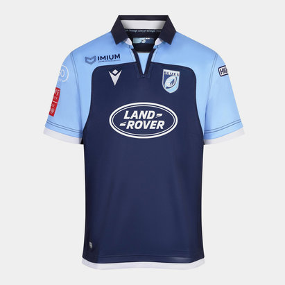 Macron Cardiff Blues 2019/20 Home S/S Replica Rugby Shirt