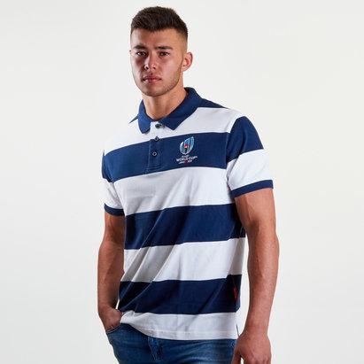 RWC 2019 Stripe Pique Polo Shirt
