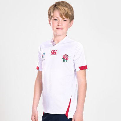 Canterbury England RWC 2019 Home Pro Shirt Junior