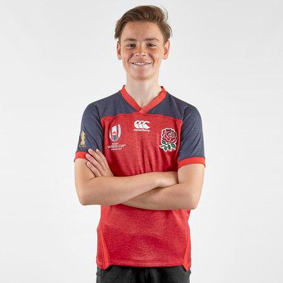 Canterbury England RWC 2019 Alternate Pro Shirt Junior