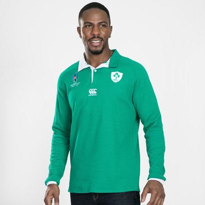 Canterbury Ireland RWC 2019 Long Sleeve Home Classic Shirt