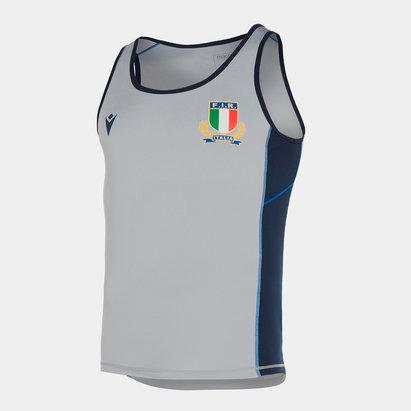 Macron Italy 2019/20 Players Gym Training Singlet
