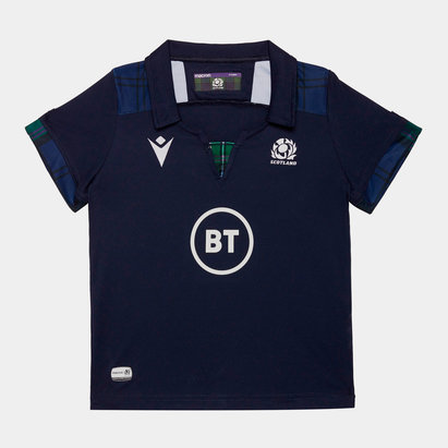 Macron Scotland 2019/20 Infant Home S/S Replica Rugby Shirt