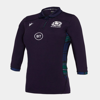 Macron Scotland 2019/20 Ladies Home Cotton Replica Rugby Shirt
