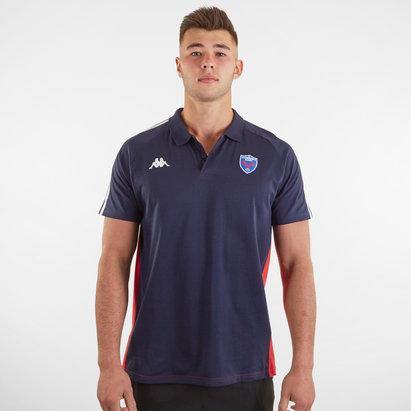 Kappa Grenoble Rugby Polo Shirt Mens