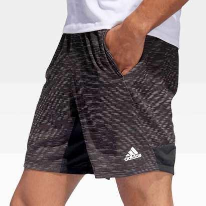 adidas Sport Striped Heather Training Shorts